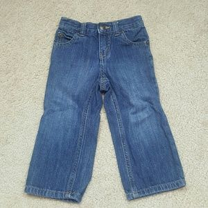Crazy 8 Straight Leg Toddler Boy Jeans